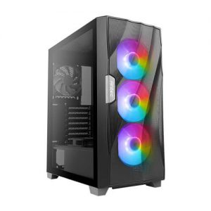 מארז ANTEC DF700 FLUX Tempered Glass RGB Mid tower Black Case