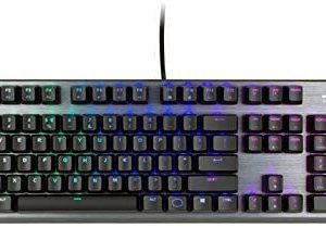 מקלדת COOLER MASTER CK350 RGB Mechanical Keyboard HEBREW+ENGLISH