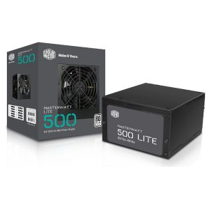 ספק כוח Cooler Master MWE White Series 500Watt 80plus