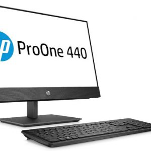 מחשב נייח HP ProOne 440 G5 AIO i5-9500T 8GB 256SSD WIN10 Pro Black